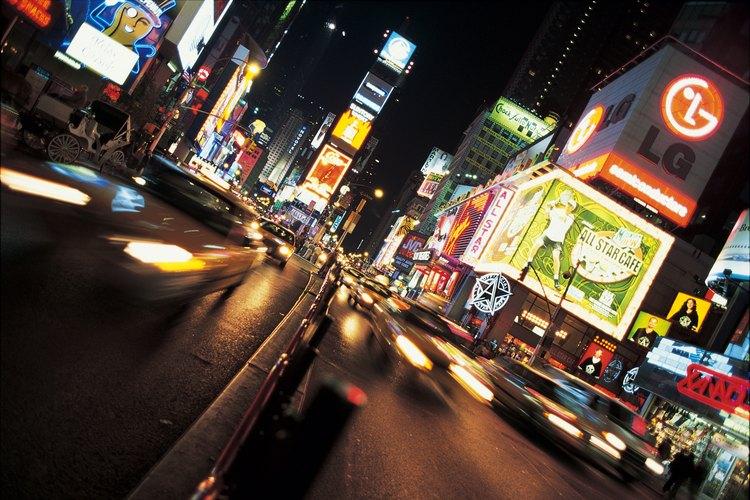 Times Square es uno de los sitios imperdibles de Nueva York.