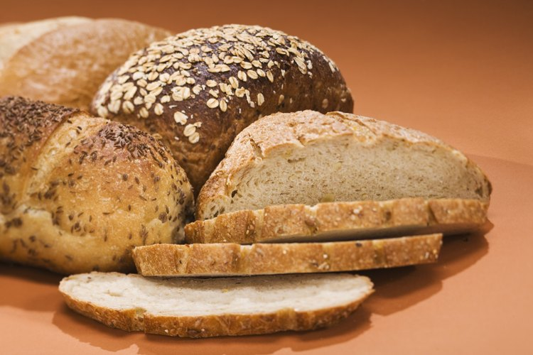 Hornea panes más rapidamente con levadura instantánea.