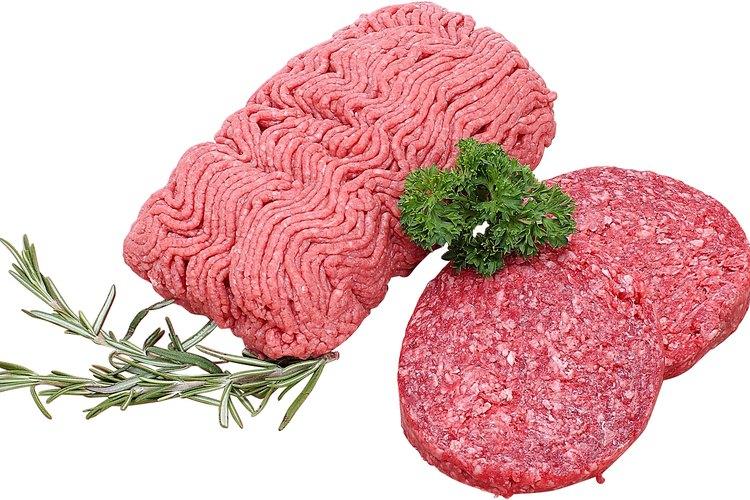 El Departamento de Agricultura de los Estados Unidos dice que no se requiere etiquetar la carne molida.