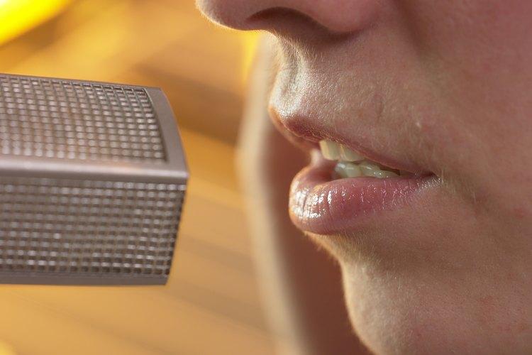 Escucha el sonido de tu voz.