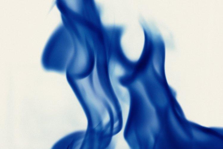 Los calentadores de llama azul utilizan gas licuado de petroleo para calentar.
