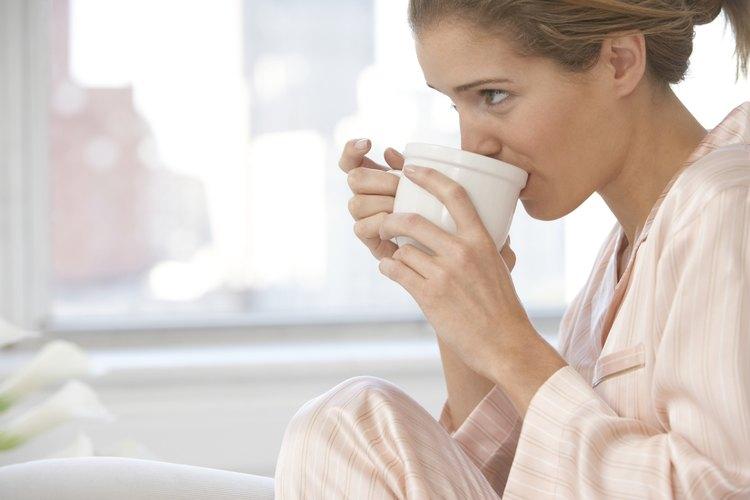 La cafeína puede causar irritabilidad en los lactantes.