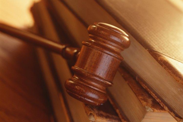 Mazo del juez.
