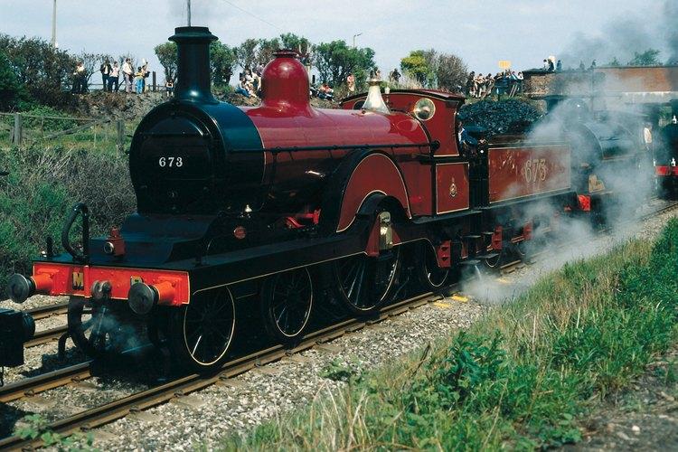 Los robos a los trenes eran comunes en el viejo oeste porque éstos se usaban para el transporte de dinero entre los bancos.