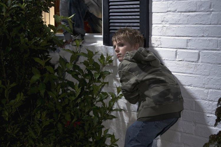 Los delincuentes juveniles pueden cometer delitos como allanamientos de morada.