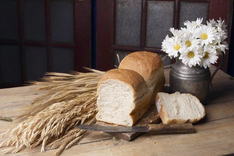 Asegúrese de que la levadura está activa para que el pan crezca.