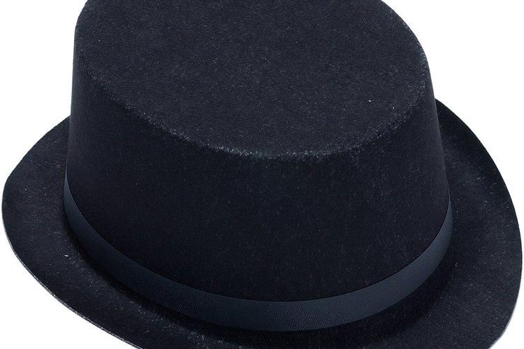 Tipos de estilos de sombreros para hombres.