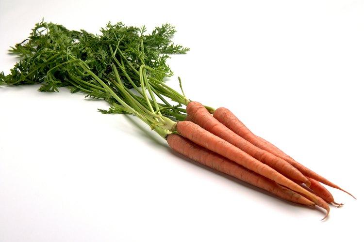 Las zanahorias vienen de diferentes variedades.