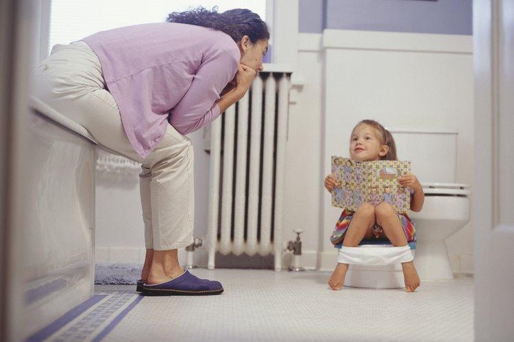 Entrenamiento de esfínteres a los 3 años de edad.