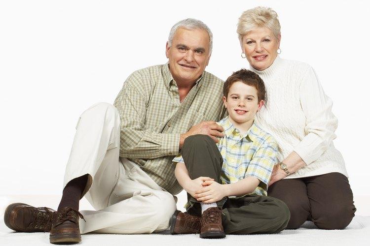 Los abuelos también pueden solicitar la custodia de un niño.