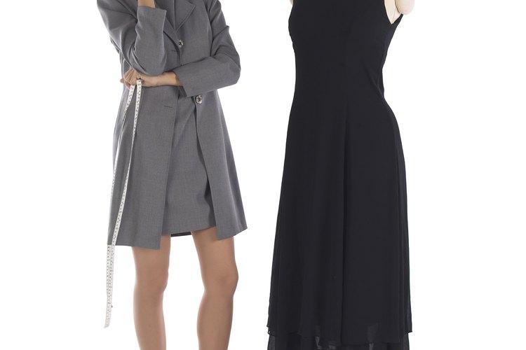 El drapeado es a menudo el primer paso en el proceso de diseño de moda.