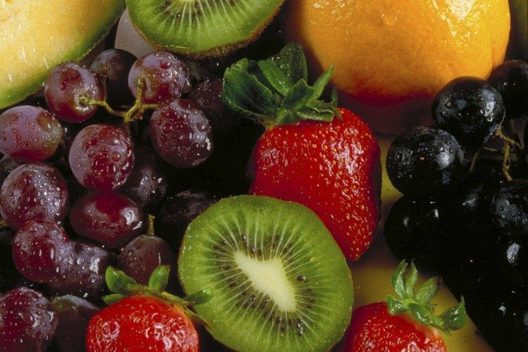 Las frutas son kosher.