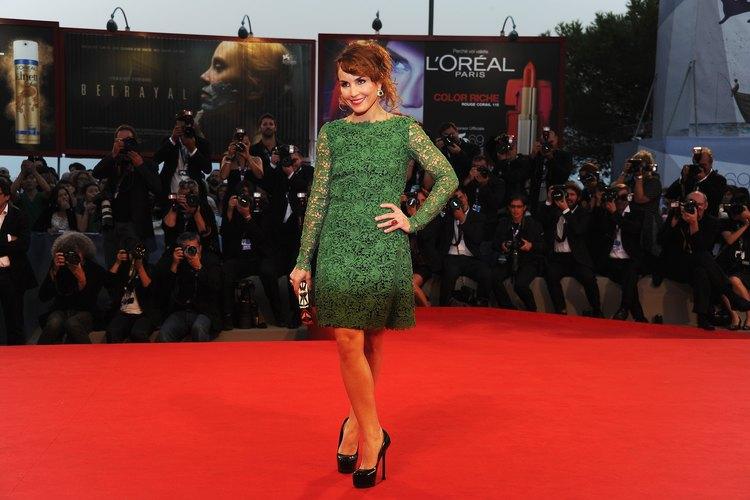 Accesorios para vestido verde esmeralda