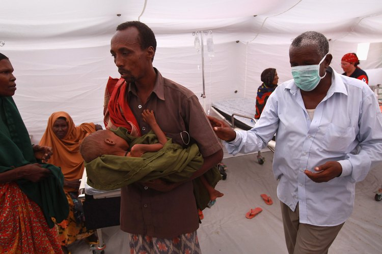 La hambruna afecta principalmente a África Subsahariana.