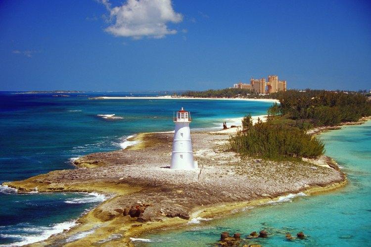 Faro en Paradise Island, Nassau, Bahamas.
