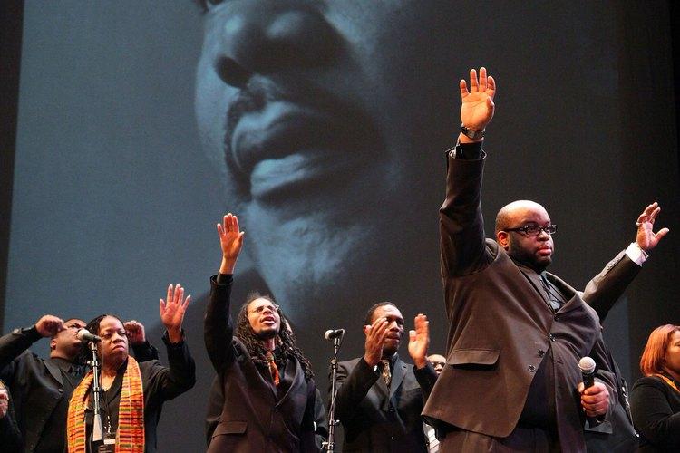 Martin Luther King, Jr. fue el más conocido líder del movimiento de los derechos civiles de 1960.