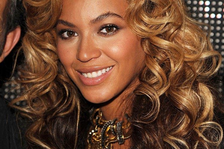 Beyonce prefiere tonos castaños más claros.