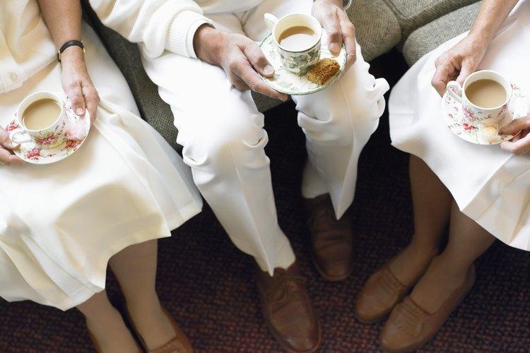 El té de la tarde es una tradición inglesa.
