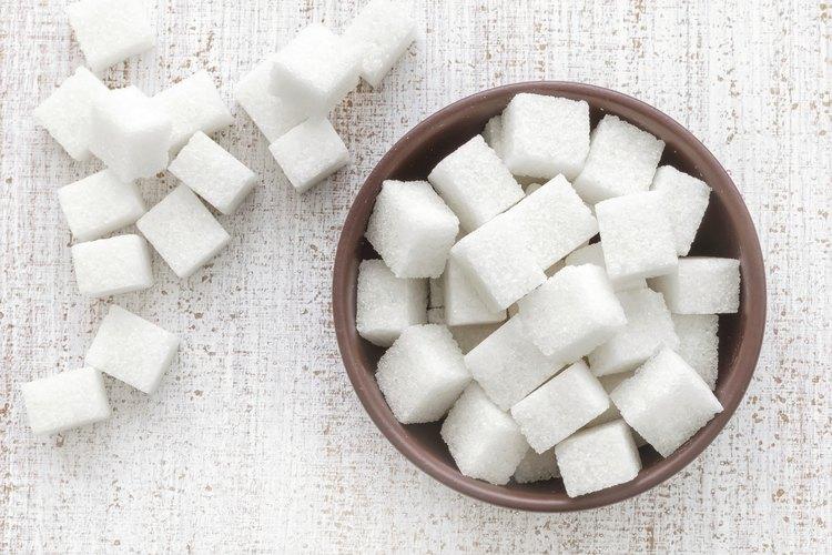 Cómo hacer cubos de azúcar.