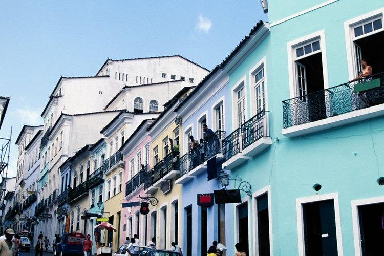 Es una ciudad impresionante en Brasil.