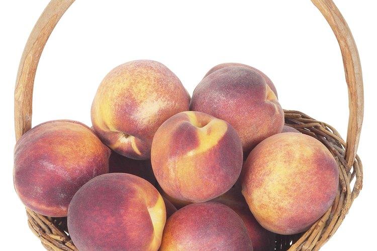 La temporada de duraznos es temprano a mediados del verano dependiendo de tu región.