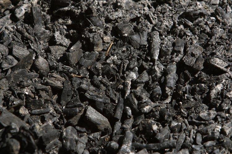 El carbón es un material ideal para filtrar el aire.