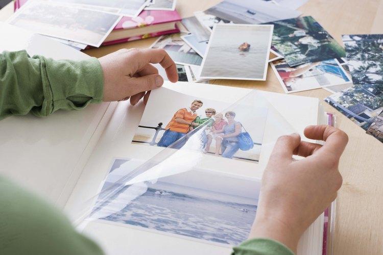 Las fotos y los recuerdos son un excelente regalo para un cumpleaños número 40.