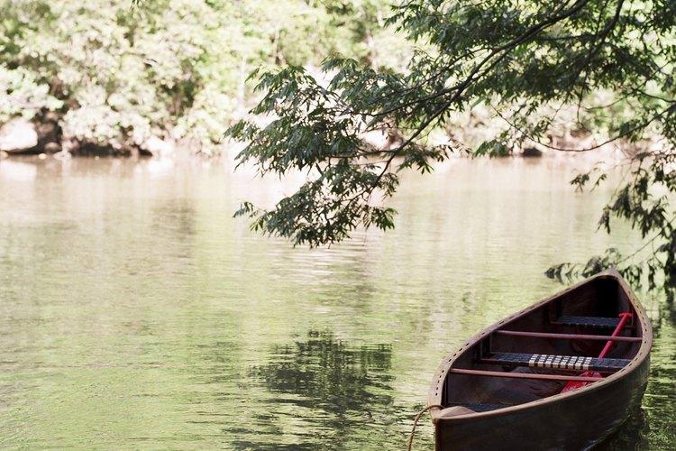El Brandywin River tiene aguas tranquilas adecuadas para remeros de tabla novatos.