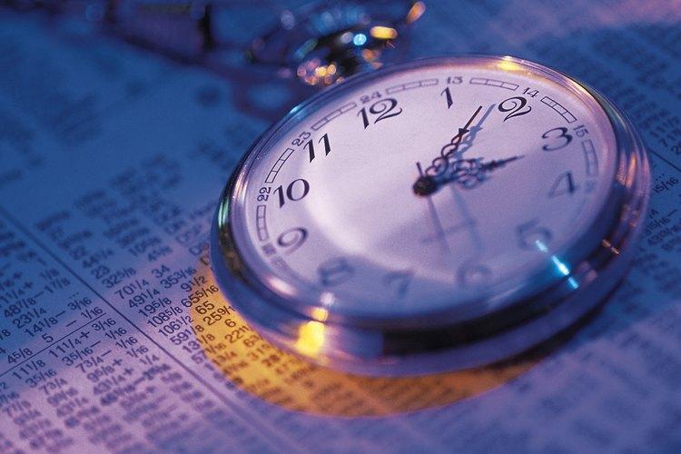 Una manecilla de hora suelta es un trabajo de reparación de reloj simple.