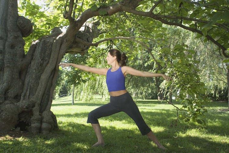 Céntrate en aumentar la fuerza a través de ejercicios de estiramiento.