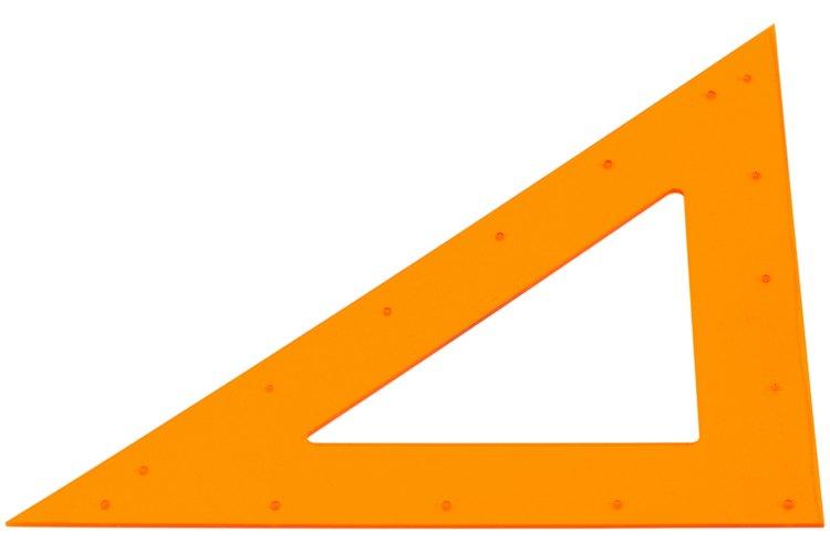 Los triángulos similares tienen los mismos tres ángulos internos.