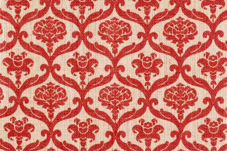Muchos materiales de tapicería son de jacquard.