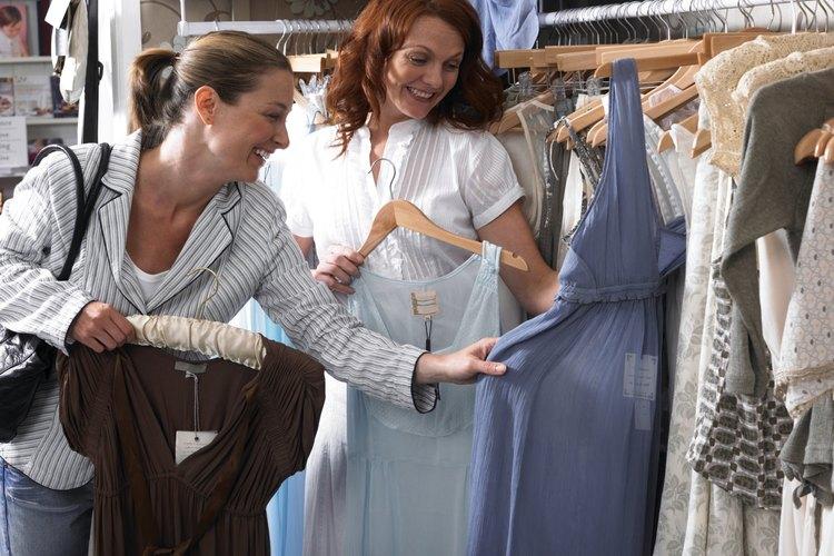 Los vestidos pueden quedar distintos dependiendo de la tela con que fueron elaborados.