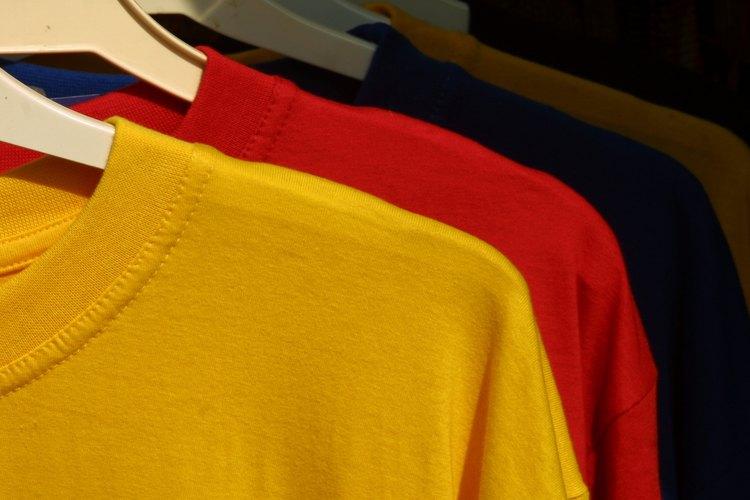 Una camiseta es versátil y fácil de personalizar.