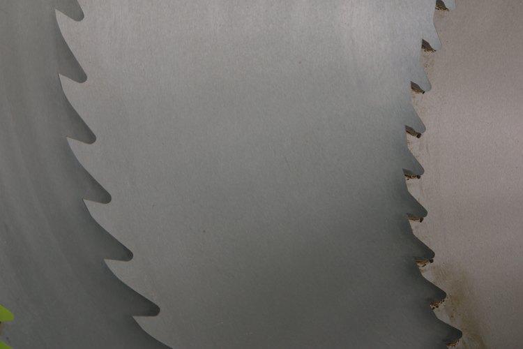 Distintos tipos de hojas de sierra.