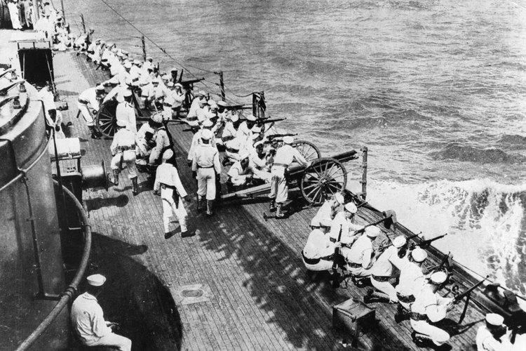 La Batalla del Puerto de Veracruz en 1914.