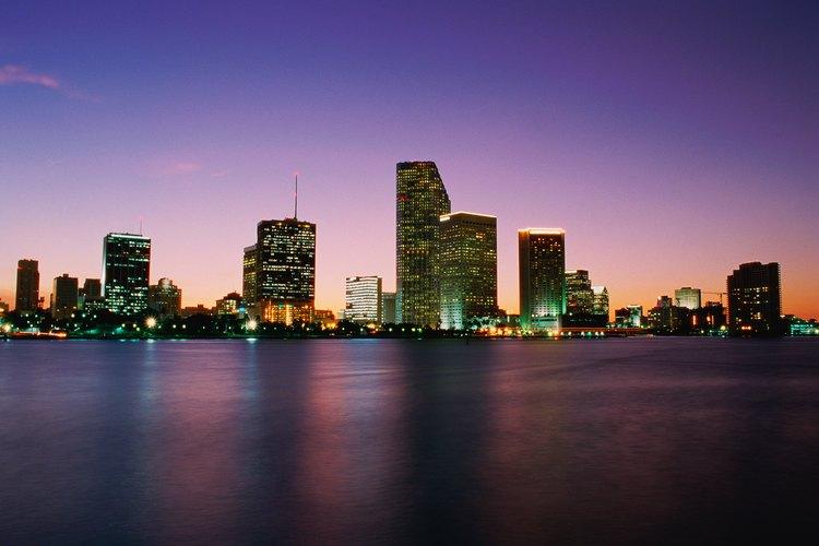 En Miami la vida nocturna es fabulosa.