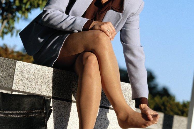 Las plantillas pueden reducir las molestias de los pies.