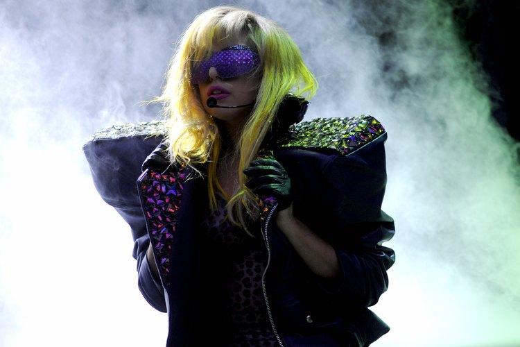 La actuación de Lady Gaga en 2010 en Chicago.