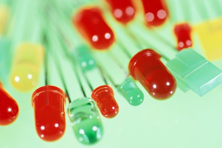 Las LED utilizan electricidad de baja tensión para que puedan funcionar con baterías.