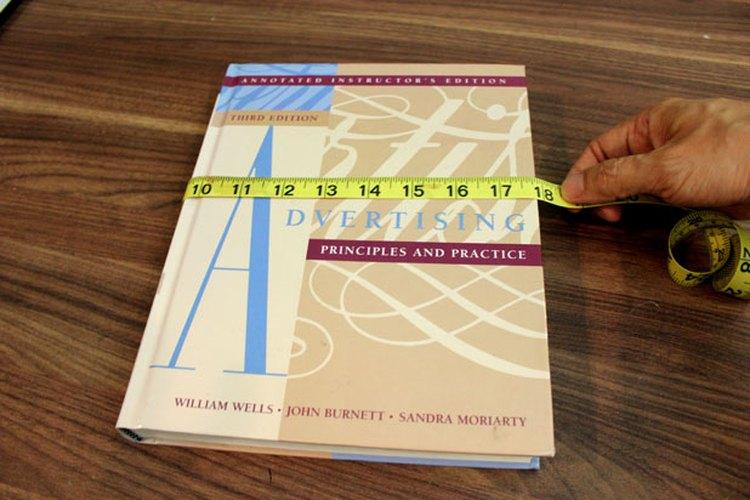 Mide las dimensiones del libro.