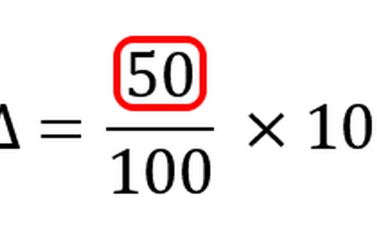 Al restar los valores del numerador, se calcula el cambio absoluto.