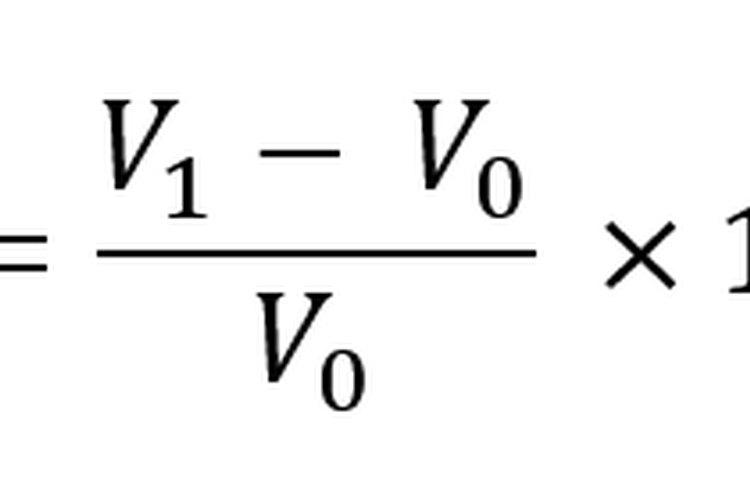 La fórmula de cambio porcentual lineal