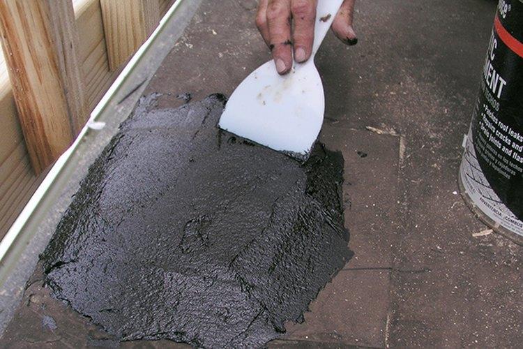 El parche impermeable está terminado.