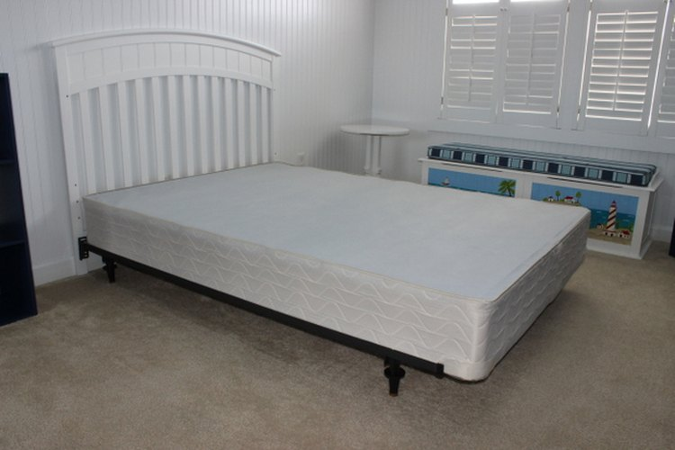 El somier es una base firme para el colchón.
