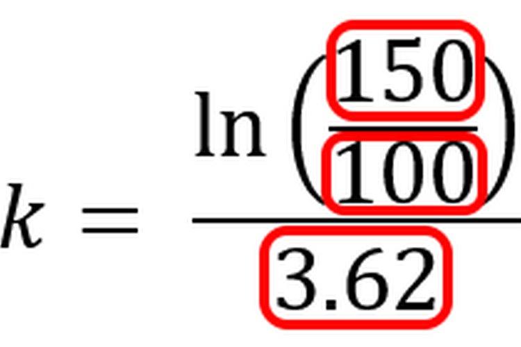 Las variables de fórmula son reemplazadas por valores reales.