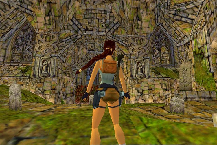 Captura de pantalla del juego original lanzado en 1996