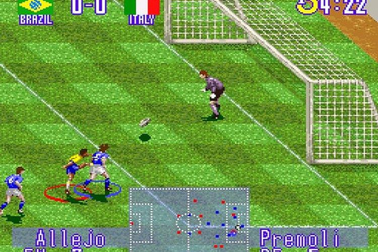 Captura de pantalla del juego original
