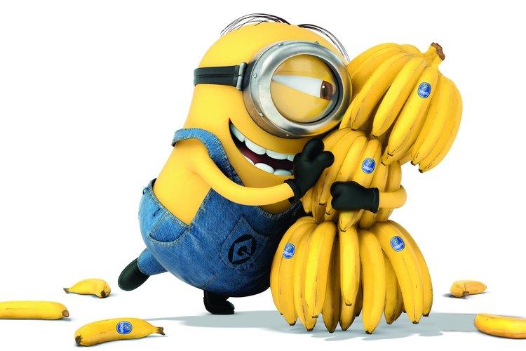 Los minions aman las bananas.