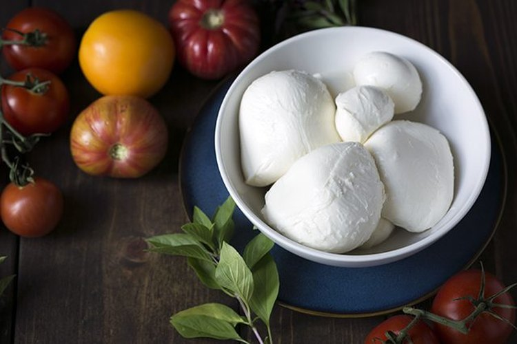 Receta de queso mozzarella hecho en casa.